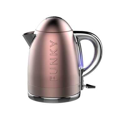 Rose Gold Funky Kettle Pre-Order Now For Delivery In March 2021