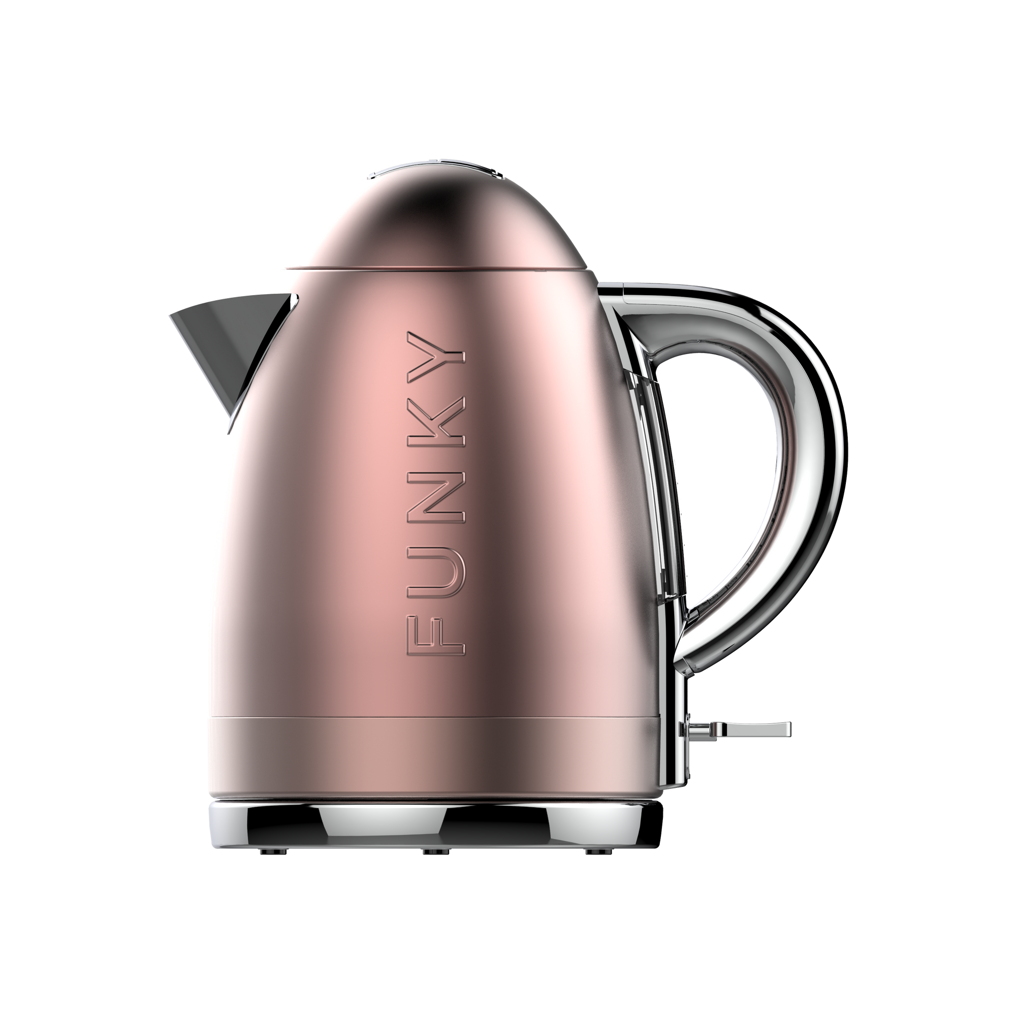 Rose Gold Funky Kettle Pre-Order Now For Delivery In January 2021