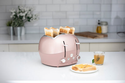 Rose Gold Funky Toaster Pre-Order Now For Delivery In December 2020