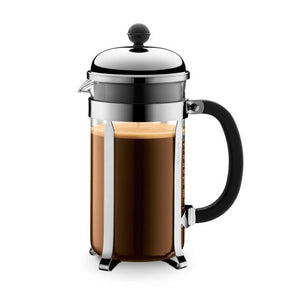 COFFEE PLUNGER // Bodum 8 Cup