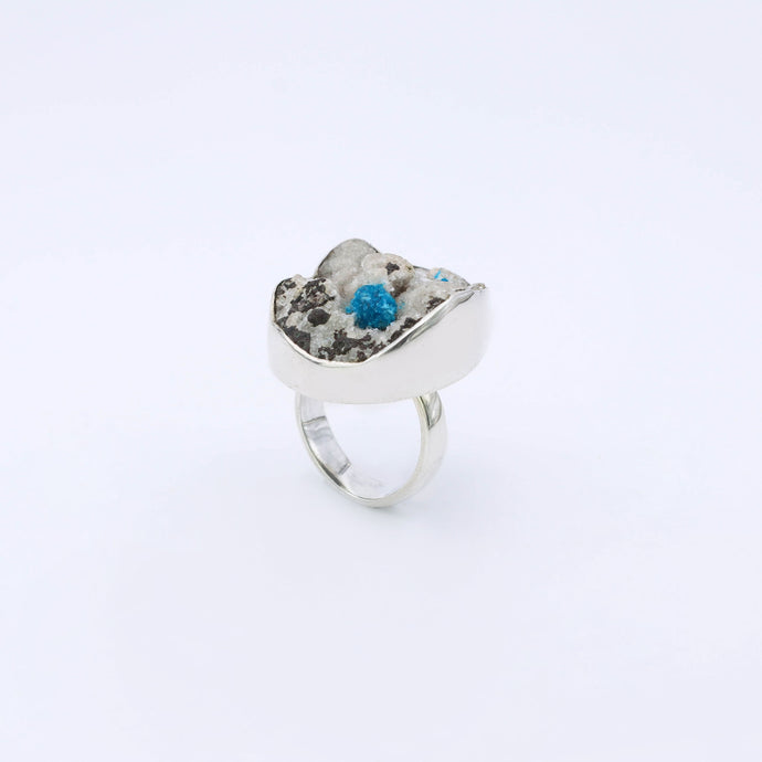 IC: ANILLO PLATA 925 KAVANSITA NATURAL