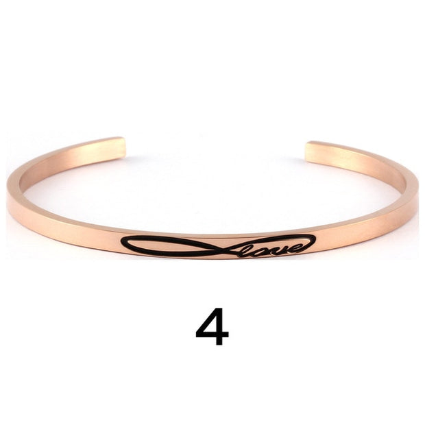 Rose Gold Inspiration Cuffs