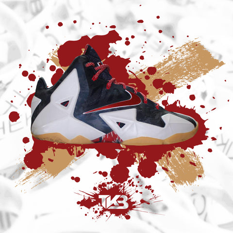Lebron 11 Independence Day's