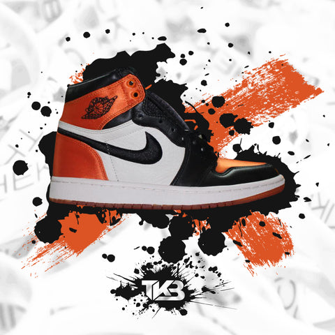 Satin Shattered BackBoard 1's