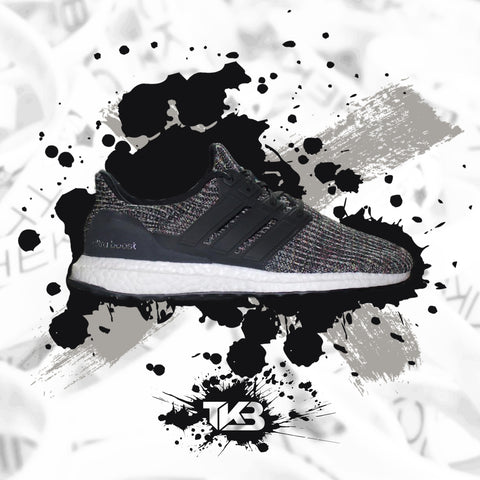 NYC Black Multicolor Bodega Ultraboost 4.0's