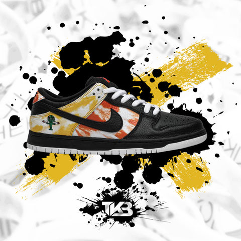Raygun Tie Dye Black Sb Dunk Low's