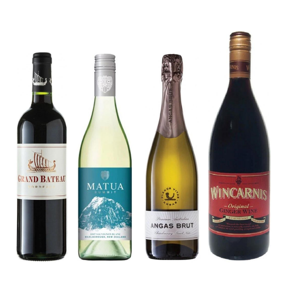 Wincarnis, Matua, Grand Bateau and Yalumba Bundle