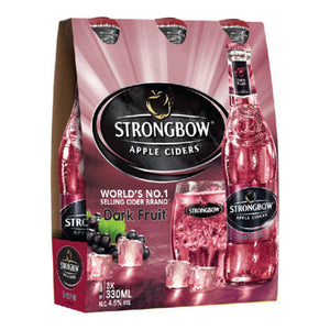 Strongbow Dark Fruits (8 packs of 3 x 33 CL) expires Oct 2020