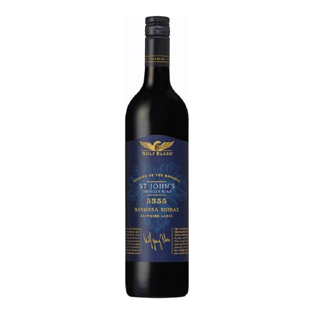 Wolf Blass Estates Of The Barossa St John's Shiraz 0.75L