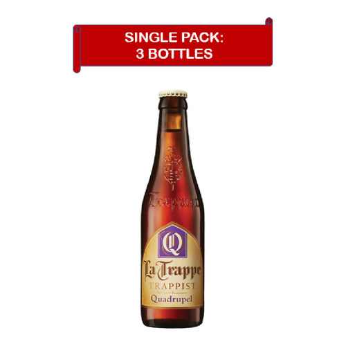 La Trappe Quadrupel (3x0.33L) expires Nov 2022
