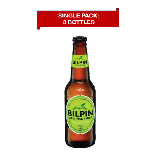 Bilpin Cider (3 x 0.33L) expires Jun 2021