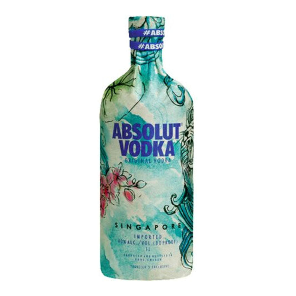 Absolut Singapore Limited Edition 1L