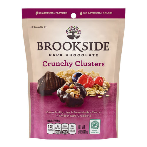 Brookside Dark Chocolate - Crunchy Clusters Berry