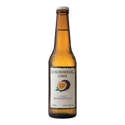 Rekorderlig Passion Fruit Cider (8 packs of 3 x 0.33L)