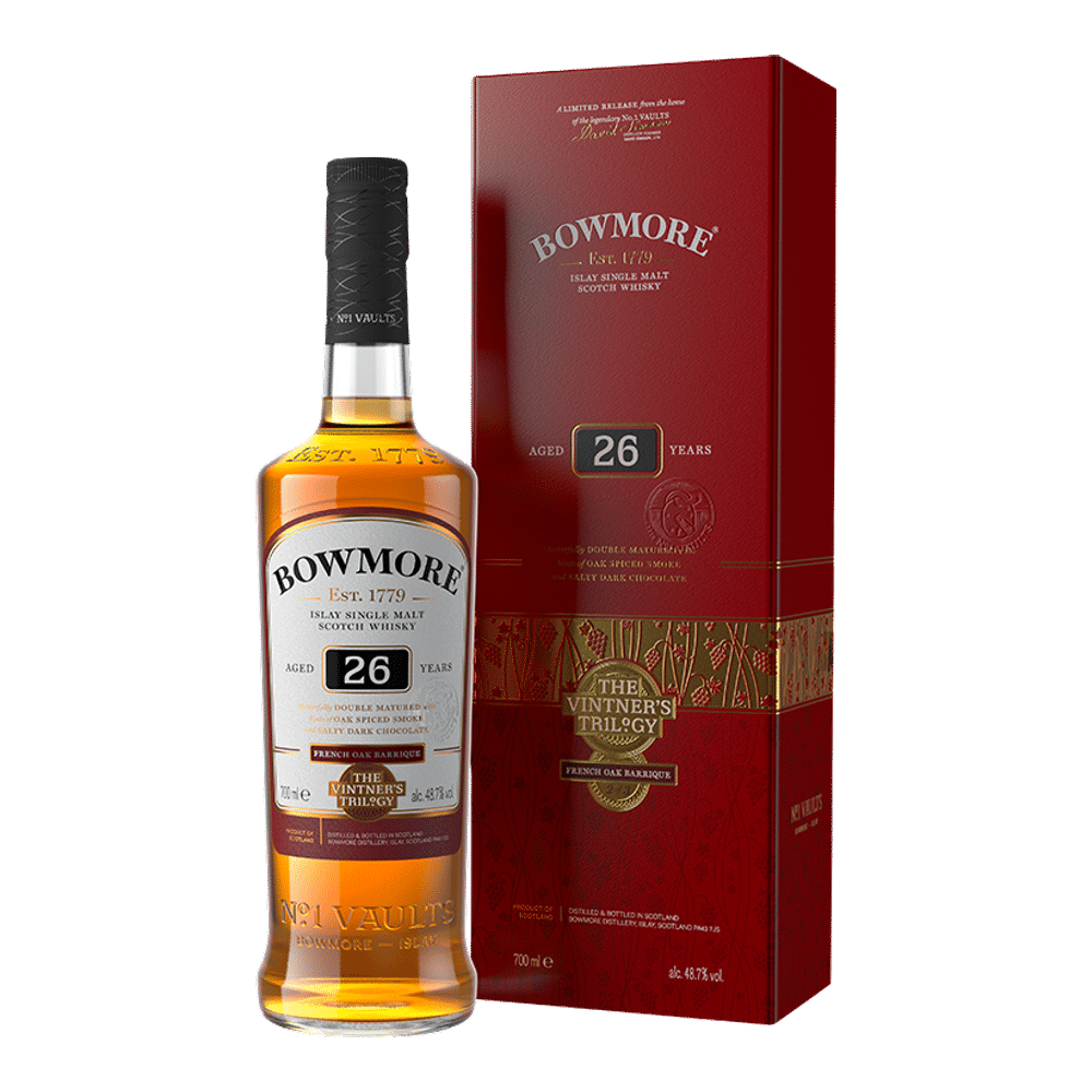 Bowmore Vintner's Trilogy: 26 Year Old 0.7L