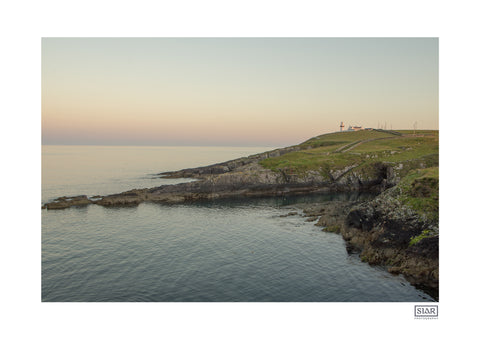A contemporary Irish landscape photography print of The Galley Head in West Cork, Ireland on the Wild Atlantic Way