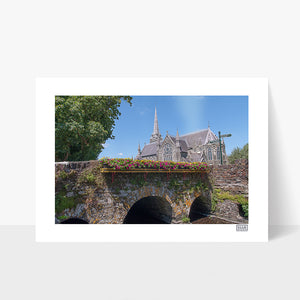 A Contemporary Wall Art Print of The Church of the Immaculate Conception, Clonakilty