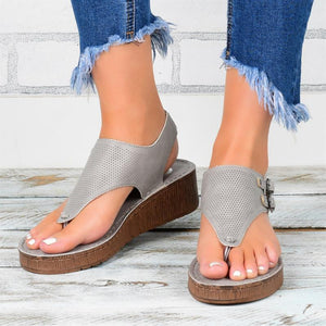 Platform size plus size women sandals