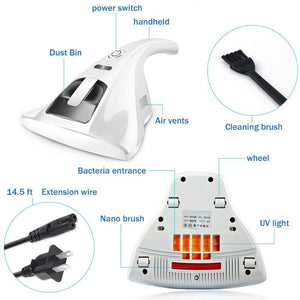 Anti-Dust UV Vacuum Cleaner