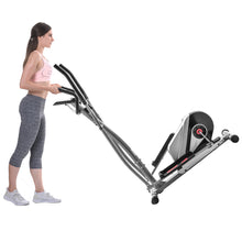Load image into Gallery viewer, Elliptical Machine Trainer Magnetic Smooth Quiet Driven with LCD Monitor, Home Use by WM version