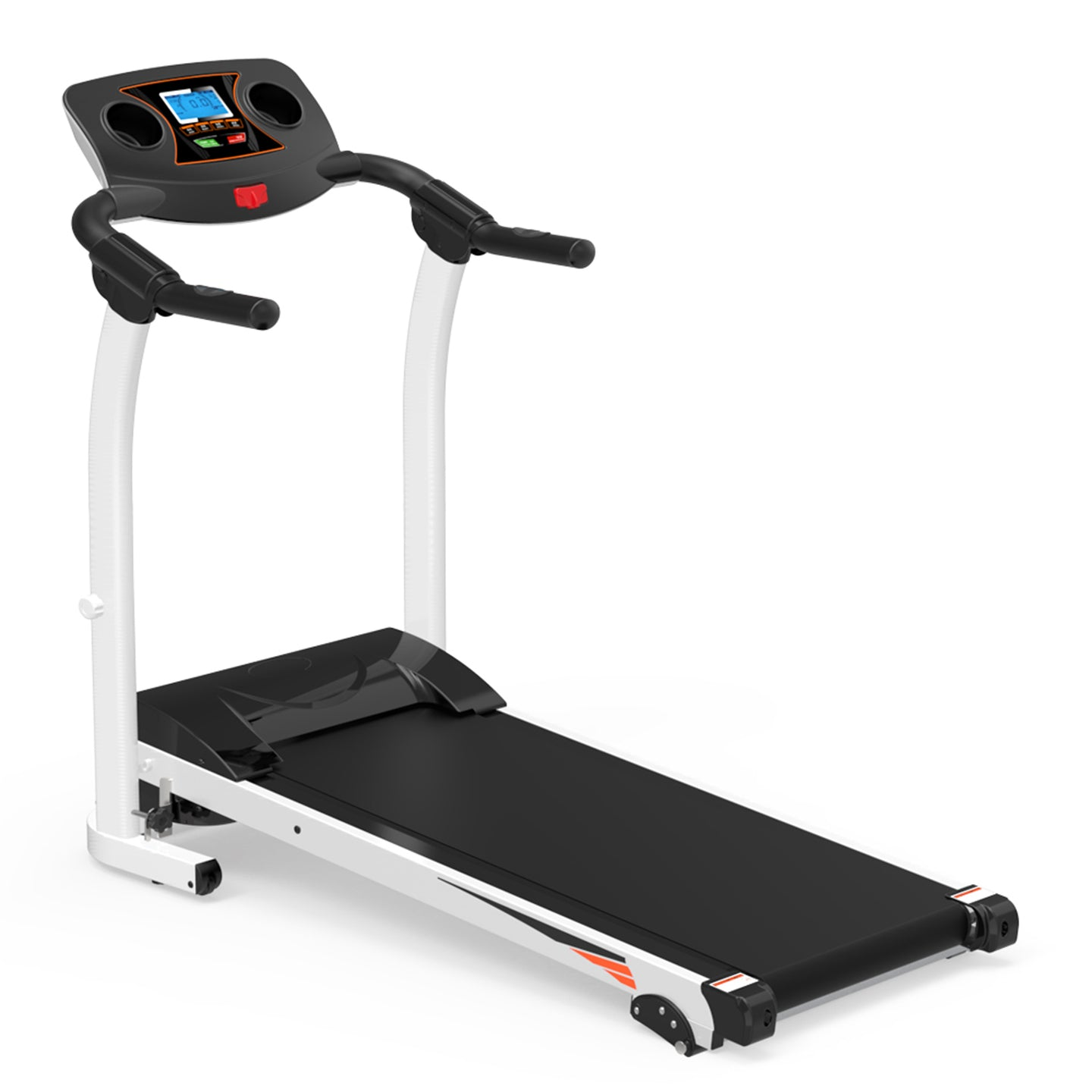 1200W Electric Treadmill Folding Motorized Running Machine by WM version