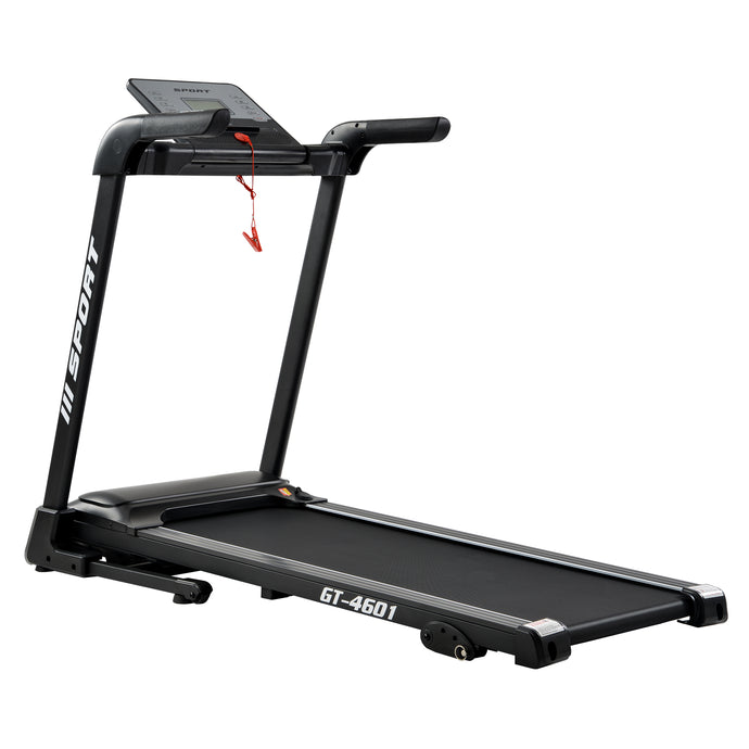 "GT-4601 2.25hp treadmill home gym Diamond Pattern Silent Belt 47.25*17.75"" Soft Dropping Built in Speaker by GT version"