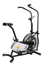 Load image into Gallery viewer, Home Use Air Resistance Exercise Bike With Display And Tension Adjustment by Healthy Day version
