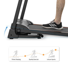 Load image into Gallery viewer, Compact Easy Folding Treadmill Motorized Running Jogging Machine with Audio Speakers and Incline Adjuster by MRS version