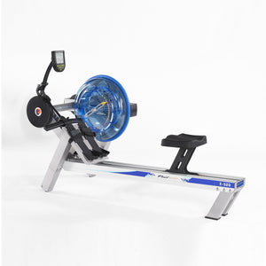 E520 Evolution Adjustable Resistance Fluid Rower by First Degree Fitness version