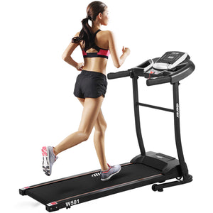 Classic Style Folding Electric Treadmill Home Gym Motorized Running Machine by WM version