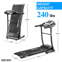 Load image into Gallery viewer, Classic Style Folding Electric Treadmill Home Gym Motorized Running Machine by WM version