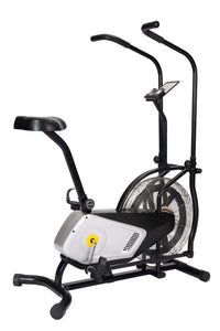 Home Use Air Resistance Exercise Bike With Display And Tension Adjustment by Healthy Day version