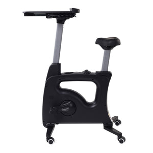 Home Office Height Adjustable Cycle Desk Bike V9/V9B by Flexispot black version