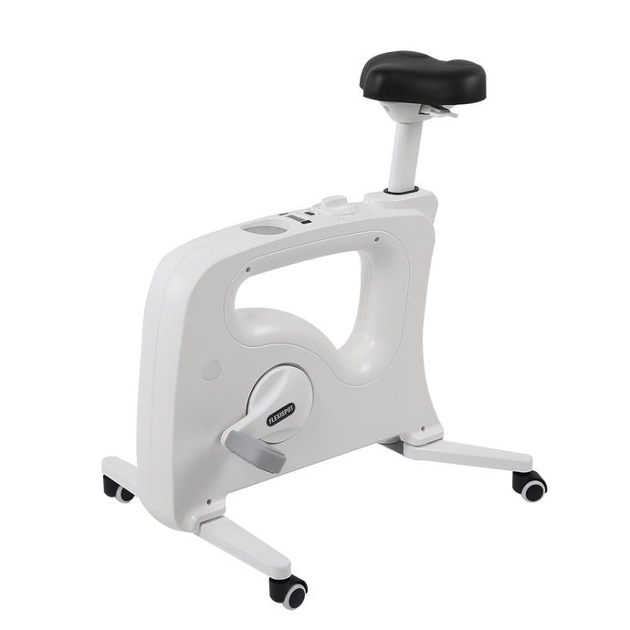 Home Office Standing Desk Mate--Under Desk Bikes V9U/V9UB by Flexispot white version