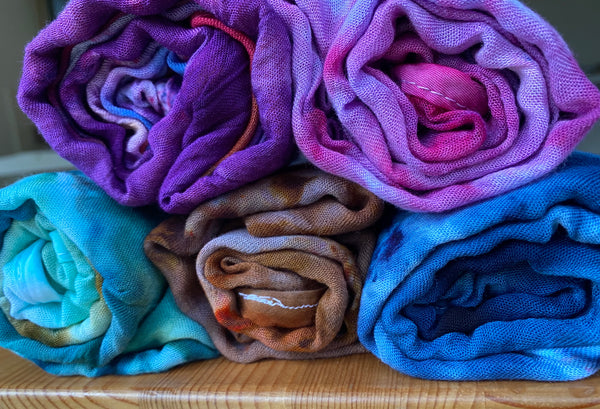 Hand Dyed Wraps
