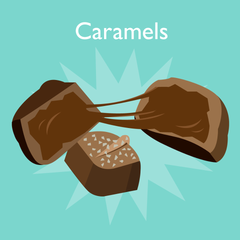 chocolate-caramels