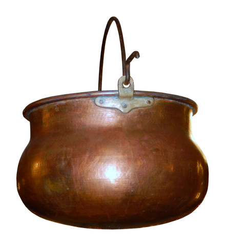 Copper Kettle used by Stefanelli's to make gourmet, hand-crafted chocolates.