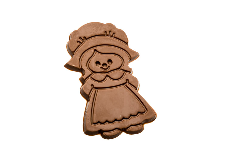 Milk Chocolate Pilgrim Girl