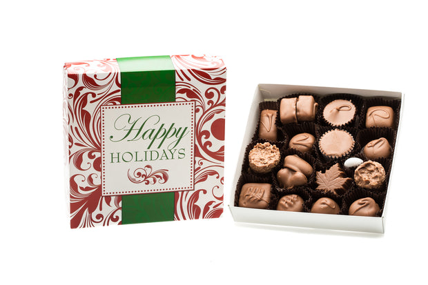 Assorted Holiday Milk Chocolate - 8oz