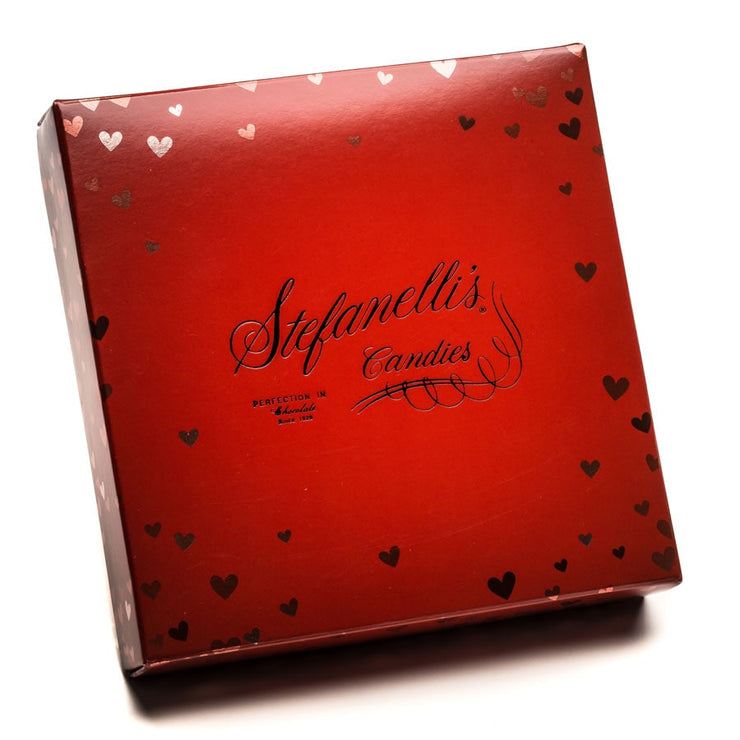 """I Love You"" Square Box (Asst. Milk Chocolates) - Medium"