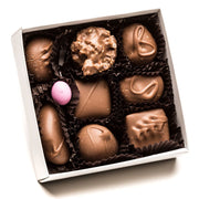 Assorted Holiday Square Box (Asst. Milk Chocolates) - Small 3oz.
