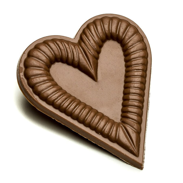 Milk Chocolate Cookie Cutter Heart