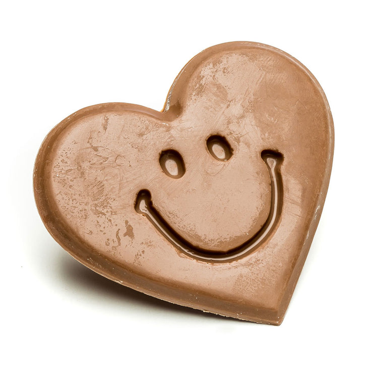 Milk Chocolate Smile Heart