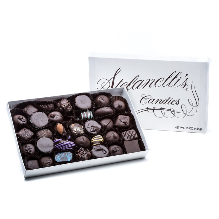 stefanelli's dark chocolate assortment