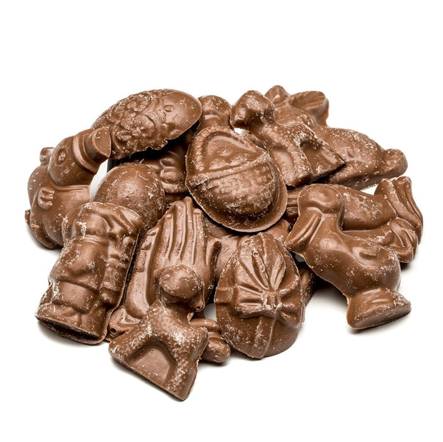 Milk Chocolate Miniature Flat Chocolate Pieces #73