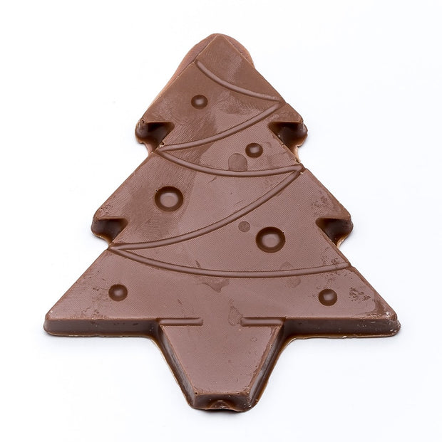 stefanelli's milk chocolate christmas tree cutouts