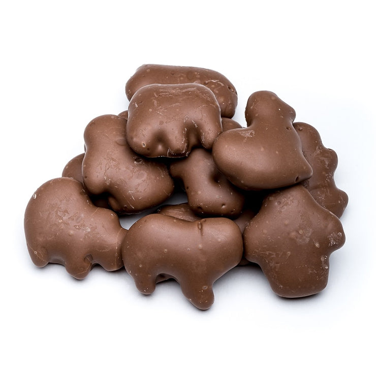 stefanelli's milk chocolate covered animal crackers
