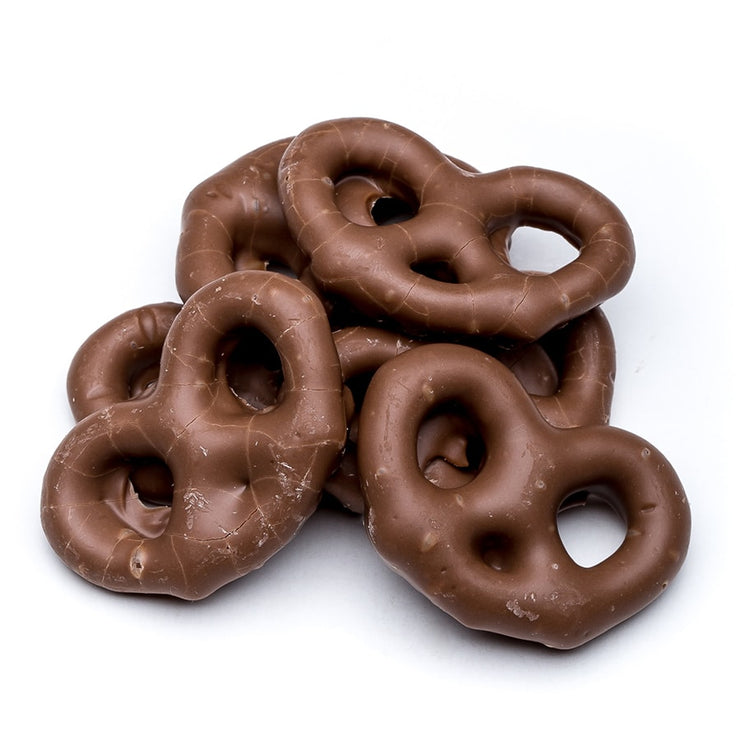 stefanelli's milk chocolate covered pretzels