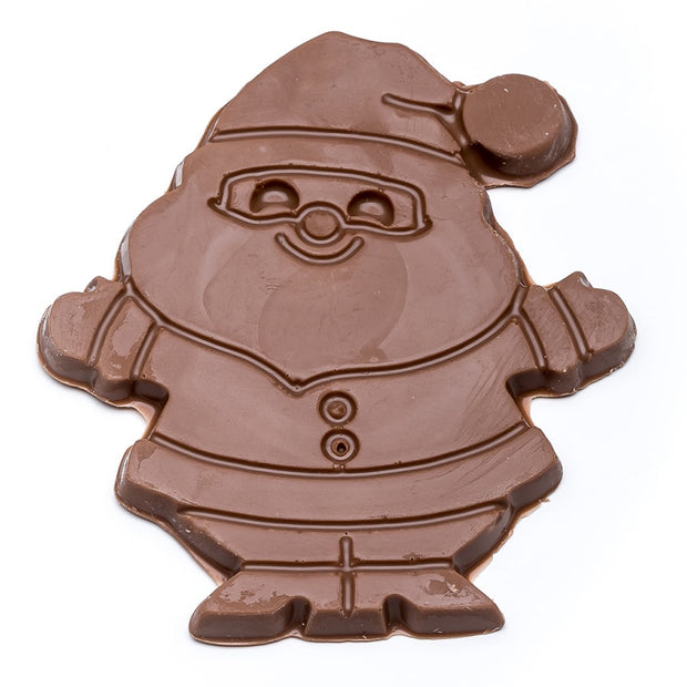 stefanelli's milk chocolate santa cutouts