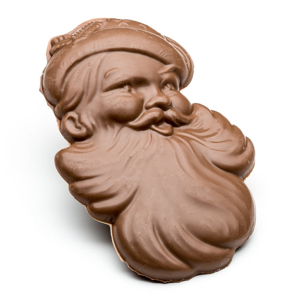stefanelli's solid milk chocolate old world santa